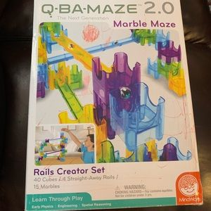 Q BA Maze Rails Creator Set Read Description